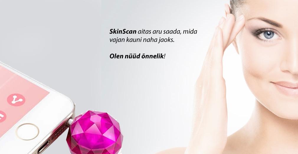 SkinScan võimaldab teste ka kehapiirkondades.